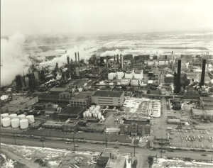 Refinery in the late 1800s