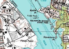 Kettle Point Rhode Island prior to terminal demolition